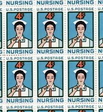 1961 Nurse / Nursing Sheet Sc# 1190 Vf Nh Medical