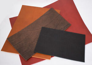Bullenleder Dickleder 3,5-4,0 mm Wunschgröße schwarz rot braun Blankleder Dosset