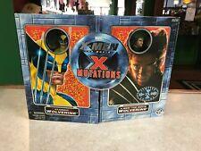 2000 ToyBiz Marvel Mutations Movie WOLVERINE 2 Pack Figure NIB