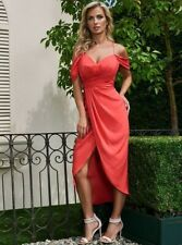 🍃🧡 GUESS BY MARCIANO CAMYLLES OFF-SHOULDER DRAPED GOWN 🍃🧡