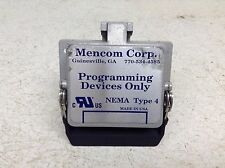 Mencom Rj45 Cat5E D9 Programming Panel Interface w/ 3 Amp 115 Vac Receptacle