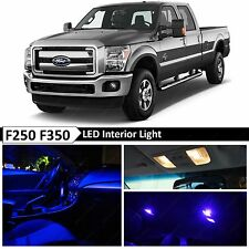 20x Blue Interior LED Lights Package Kit for 1999-2016 Ford F250 F350 + TOOL