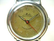 MIDO MULTIFORT VINTAGE 1943 SUPER AUTOMATIC MONTRE REVISEE RETRO OLD WATCH