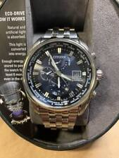Citizen Eco-Drive AT9030-80L Men's 44mm World Time Atomic Watch.