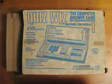 Coleco Quiz Wiz 1001 questions with cartridge 1 in original box