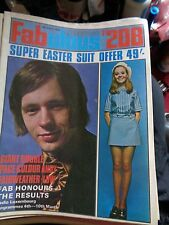 FABULOUS 208 8/3/1969 ANDY FAIRWEATHER LOW, THE MOVE, DAVE DEE, ALAN WHITEHEAD