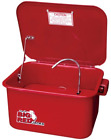Torin Big Red Steel Cabinet Parts Washer with 110V Electric Pump, 3.5 Gallon