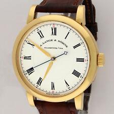 A. Lange & Sohne Richard Lange 18K Yellow Gold 40.5mm 232.021 Observation Watch