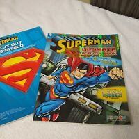 Superman Ultimate Coloring Activity Book 2 Poster 60 Stickers DC Comics Clark