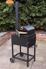 Gardeco forno steel outdoor four à pizza jardin patio fire woodburner log brûleur