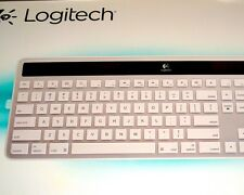 APPLE MAC LOGITECH Wireless Solar Keyboard Laptop & Desktop—Bluetooth, K750
