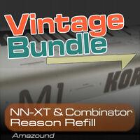 KORG M1 + 01W + X5 REASON REFILL BUNDLE 400+ NNXT & COMBINATOR 4000+ SAMPLES 24b