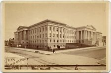 PATENT OFFICE WASHINGTON D.C. NEWS DEPOT CABINET PHOTO