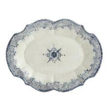 Arte Italica Burano Oval Scalloped Platter