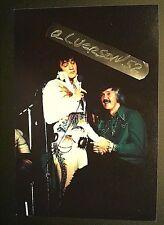 ELVIS PRESLEY & J.D. SUMNER CONCERT PHOTO - DAYTON OH - OCTOBER 6 -1974