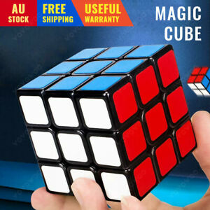 3x3x3 Magic Cube Super Smooth Fast Speed Rubix Rubik Puzzle Pressure Reliever