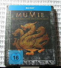 The Mummy Tomb of the Dragon Emperor Blu-Ray Steelbook ~ Die MuMie ~ Import