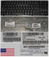 Qwerty Keyboard US DOMESTIC HP G61 CQ61 NSK-HA601 0P6 9J.N0Y82.601 539618-001