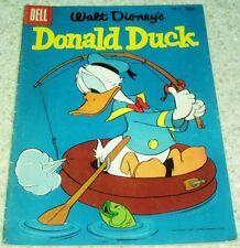 Walt Disney's Donald Duck 47, (FN- 5.5) Mysterious Crewless Ship, 40% off Guide!