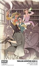 SDCC 2018 Boom! The Thrilling Adventure Hour #1 Variant Cover Cheeks - In Hand