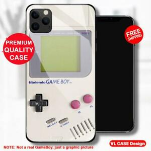 Gameboy Retro Game Tempered Glass Phone Case Samsung Huawei iPhone Gift