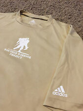 Rare Adidas Wounded Warrior Project Rolling Thunder Shirt Gym Workout 2 Sided