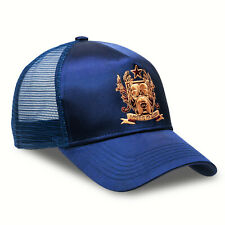 Chiccheria Brand Trucker Cap Herren 'Bulldog' navy-blue glänzend, bekannt aus GQ