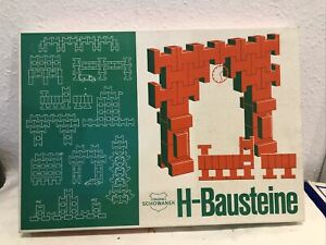 schowanek H Bausteine Holzspielzeug Neu Ovp Antik