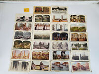 Lot of 25 antique stereoview cards 3d photograph all dirty some damaged 25 E