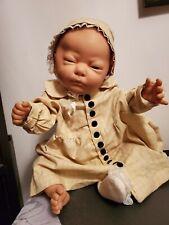 Vintage Creepy Deformed Anatomically Correct Berjusa baby girl doll Haunted?