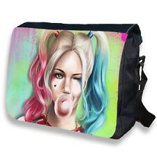 Harley Quinn Shoulder Messenger Reporter Personalised Bag