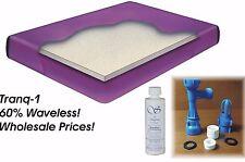 California Queen Boyd 60% Waveless Waterbed Mattress, Heater, Liner & Fill Kit
