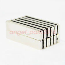 2550pcs N50 Strong Big Block Fridge Magnet 50x10x4mm Super Rare Earth Neodymium