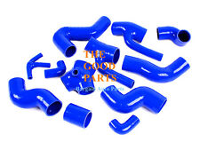 Silicone Boost Piping Hose Kit AUDI S4 RS4 A6 B5 C5 2.7L BI-TURBO 97-01 BLUE