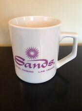 00004000 Sands Hotel Casino Las Vegas Coffee Cup Vintage Mug Nevada Collectible Ceramic