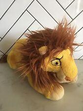 "Disney Parks Adult Simba Lion King Plush Toy 17"""