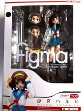 Free Shipping from Japan Authentic Figma The Melancholy of Haruhi Suzumiya