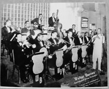 JAZZ/BLUES PHOTO: WALTER BARNES SOPHISTICATED SWING ORCHESTRA repro 8x10 glossy