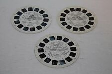 VIEW-MASTER The Seven Wonders of the World, #B901, VINTAGE, 3 Reels, 1962