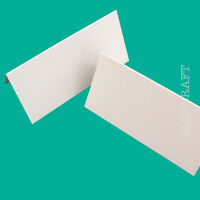 50 x Prestige Large White Blank Place Name Cards 300gsm - Hotel Events