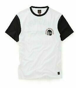 Triumph Motorcycle Aberdeen Men's Tee White/Black