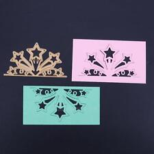 Gold Stars DIY Metal Cutting Dies Stencils Scrapbooking Embossing Album Craft