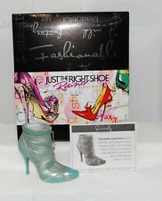Just The Right Shoe by Raine Shoe Miniatures- Seriously Nib