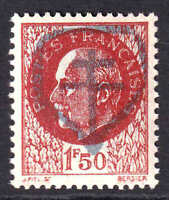 FRANCE 440 CHAMBERAUD LIBERATION OVERPRINT OG NH U/M VF BEAUTIFUL GUM