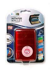 Metafun Wallet RFID Aluminium Wallet / Credit Card Holder (5 Slots )