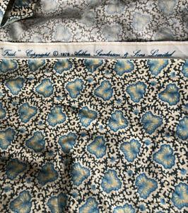 Vintage Arthur Sanderson & Sons 1979 Frisk Vintage Fabric / Material