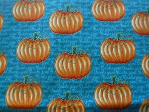 18 x 18 Pillow Cover With Different Autumn Pumpkin Designs On Home Décor Fabric