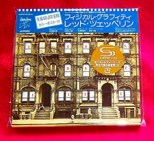Led Zeppelin Physical Graffiti SHM MINI LP CD 2 X CD JAPAN WPCR-13135-36