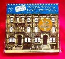 Led Zeppelin Physical Graffiti JAPAN 2 SHM MINI LP CD WPCR-13135-36