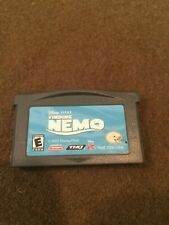 Nintendo GameBoy Advanced Disney Pixar Finding Nemo Video Game Rated E
